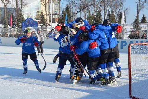 В ООО«Газпром трансгаз Уфа» состоялся Vтурнир корпоративной хоккейной лиги