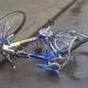 Велосипедистка стала жертвой пьяного полицейского.