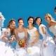 В Михайловске прошел районный флешмоб «Свадебная феерия»